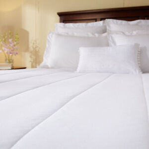 Sunbeam Quilted Heated Mattress Pad 10 Heat Settings King Queen