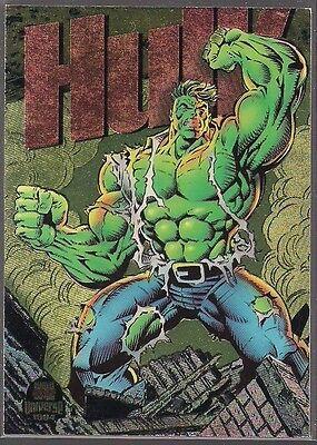 1994 Marvel Universe Complete 9 Card GOLD Power Blast Insert Set Walmart NM