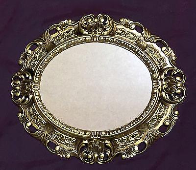 BILDERRAHMEN Antik OVAL Schwarz Gold Fotorahmen Bilderrahmen Gemälderahmen 45
