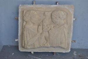 Moule-ancien-d-039-atelier-de-platrier-staffeur-applique-motif-Egyptomania
