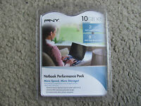 Pny Netbook Performance 2gb Ddr2 Laptop Memory & 8gb Sdhc P-nb-sd8ddr2g-fs