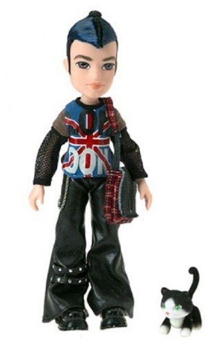 BRATZ BOYZ mondiale -- London punkz EITAN BAMBOLA RARA da  collezione  design semplice e generoso
