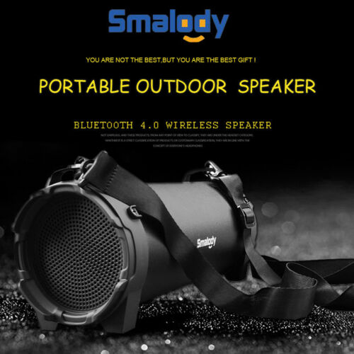 FM Portable Bluetooth Speaker Wireless Stereo Loud Super Bass Sound Audio//USB