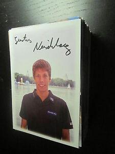 48730 Justus Nieschlag Triathlon original signierte Autogrammkarte