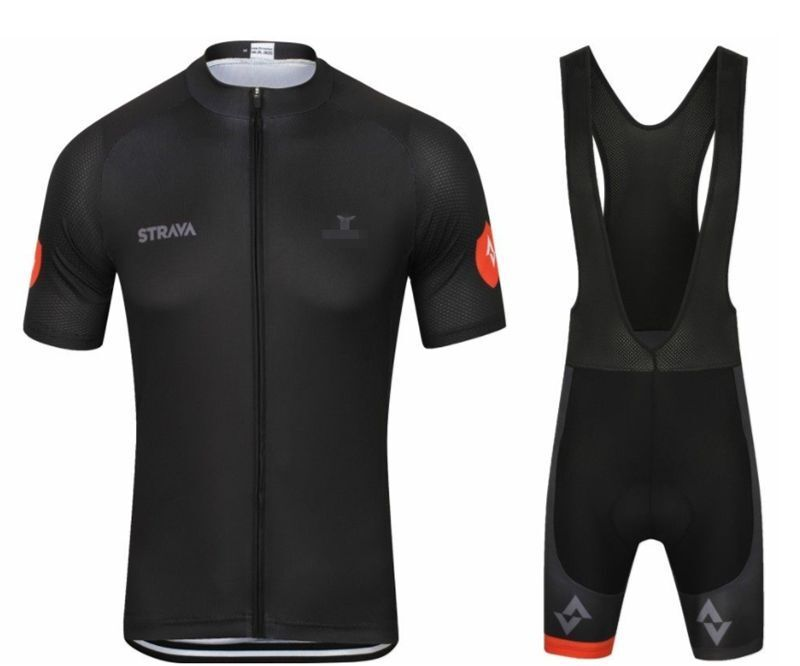 Jersey Set Men Cycling Shirt Padded Shorts Breathable Summer Outdoor Sports Wear