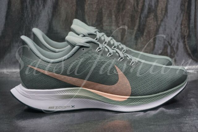 c1a86c38ccc0 Nike WMNS Zoom Pegasus 35 Turbo Mica Green Light Silver Womens Aj4115-300  Sz 7.5 for sale online