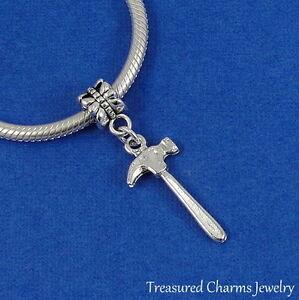 Silver Hammer Charm Dangle