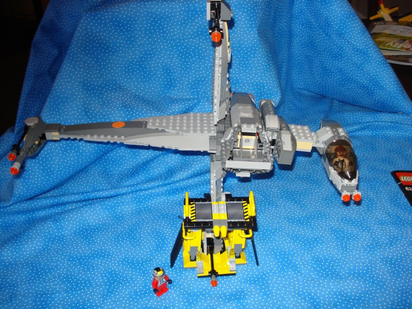 Lego Star Wars B-Wing B-Wing B-Wing Fighter 6208 Used w booklet boys girls 7+retired d298a4
