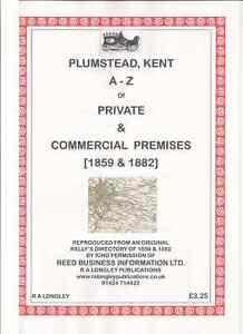 Plumstead-Kent-1859-amp-1882-A-Z-Kelly-039-s