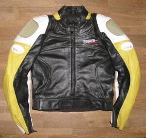 034-TAKAI-034-Herren-Motorrad-Kombi-Lederjacke-Biker-Jacke-in-ca-Gr-46