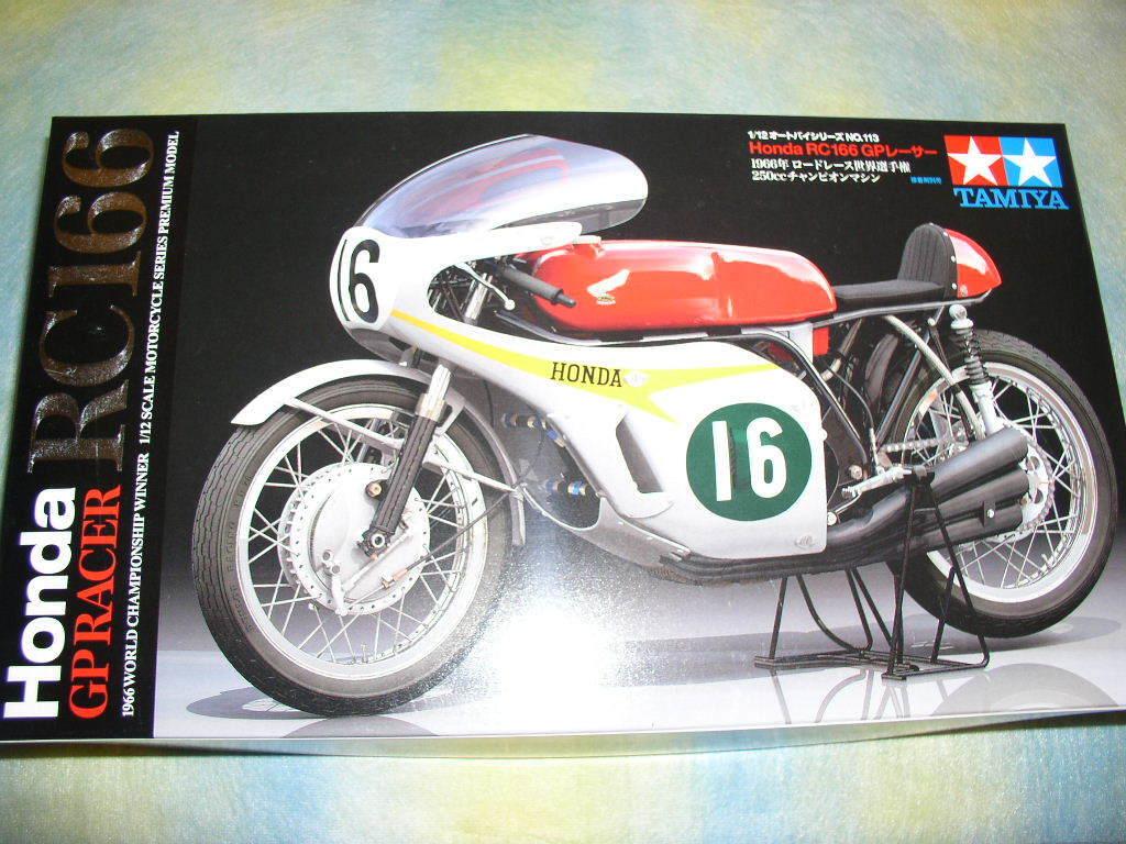 Tamiya 1 12 Honda RC166 GP Racer Model Bike Kit