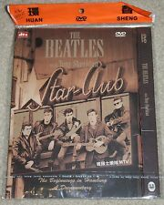 The Beatles - Star Club with Tony Sheridan DVD. Rare Chinese MTV packaging/cover