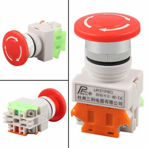 Emergency Stop Switch PCB Terminals