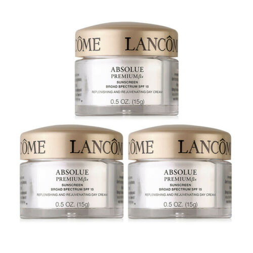 Lancome Absolue Premium Bx Replenishing Rejuvenating Day Cream SPF 15 0.5oz//15g