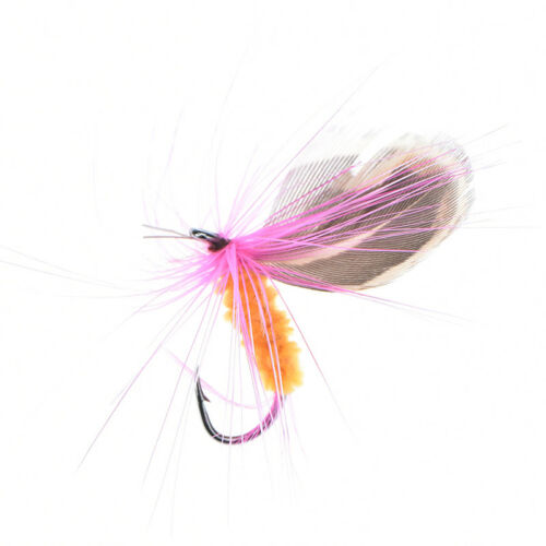 fly trout fishing lures  AB butterfly flies trout freshwater fly fishing 12pcs