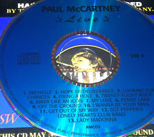 Paul McCartney Live CD Super Rare The Beatles Get Out Of My Way Lady Madonna