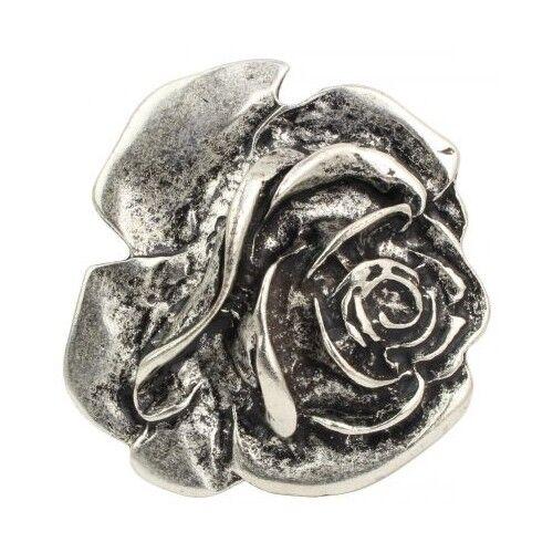 Gürtelschließe Rose 4,0 cm  Blume Blüte Floral Weiblich Blühend Dornen