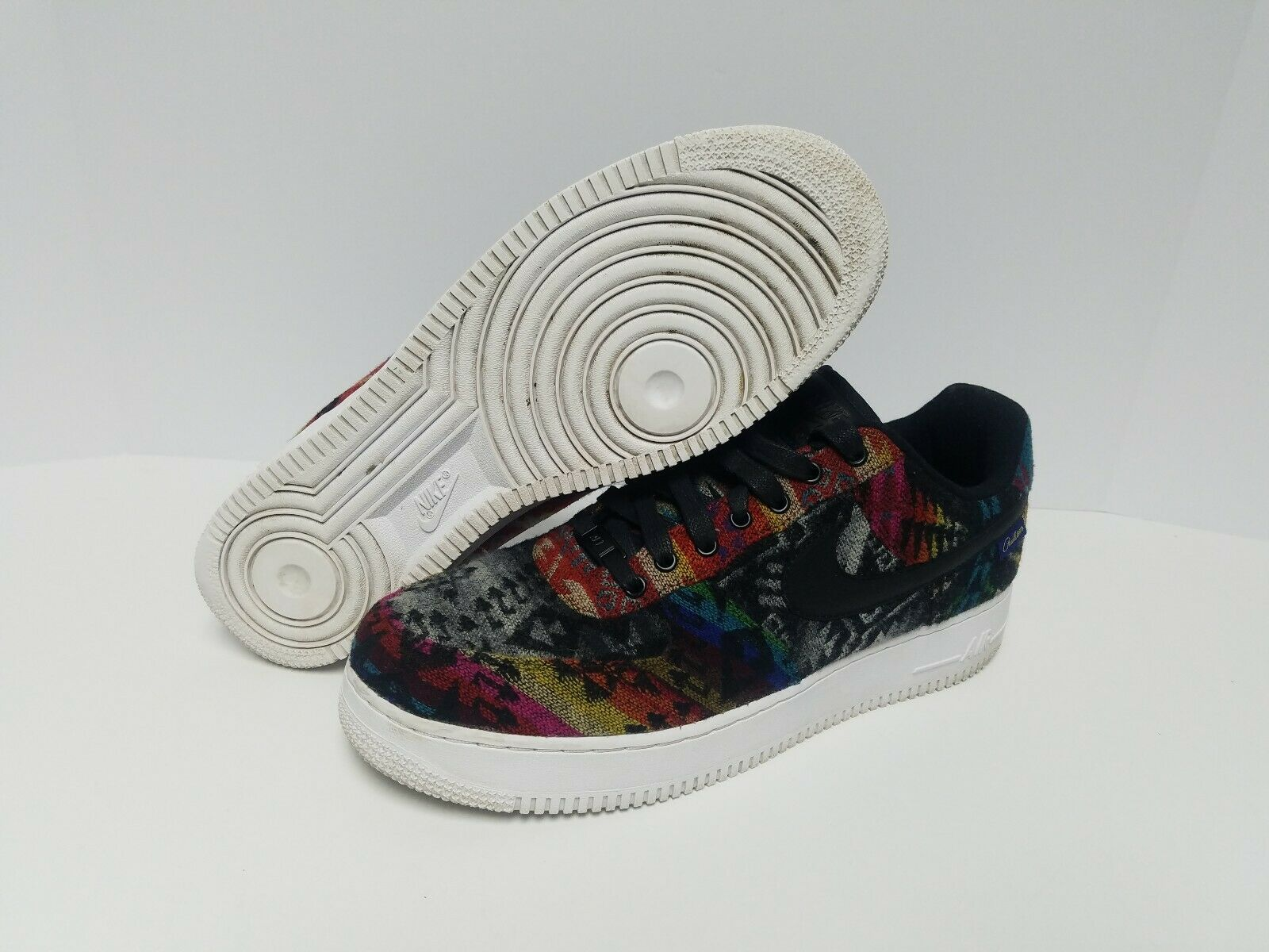 4cfde013fe Nike Air Force One Id Premium What Pendleton Size 11 911189-991 The ...