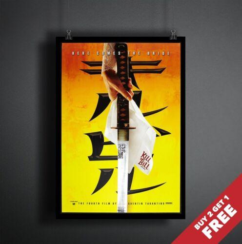 KILL BILL VOL Greatest Quentin Tarantino Film Print 1 2003 MOVIE POSTER A3 A4