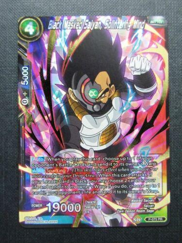 Dragon Ball Super Cards # 2B95 Black Masked Saiyan Splintering Mind Promo PR