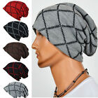 Men Unisex Knit Winter Warm Ski Baggy Crochet Slouch Hat Cap Oversized Beanie