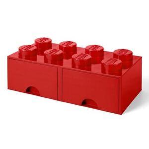 8 pomos LEGO Caja de almacenamiento apilable