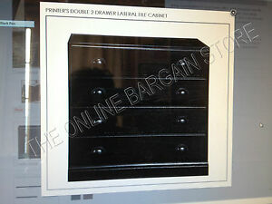 Pottery Barn Printers Double File Cabinet Drawer Build Your ...