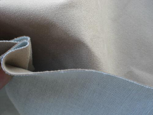 Polsterstoff Nubuk optik stoff Microfaserstoff Möbelstoff Farbe BEIGE