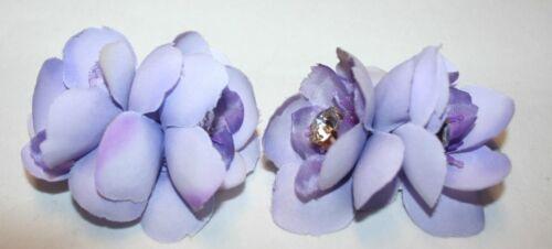 Flower Clip 2 piece Details about  /Light Purple Clip for Shoes Shoe Accessories Shoe Clips