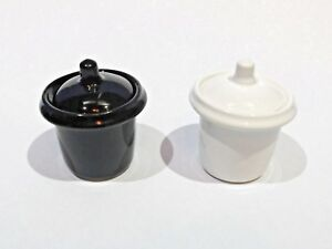 SCHOOL DESK INKWELL ceramic ink pot china insert with lid (Black OR White) frr8vqkN-09154612-268173700
