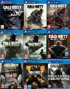 Call-Of-Duty-PS4-Assorted-Game-PICK-ONE-OR-BUNDLE-UP-MINT-Super-Fast-Delivery