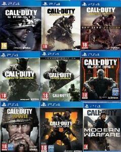 Call-of-Duty-PS4-assortiti-gioco-Scegline-Uno-o-Copriti-Nuovo-di-zecca-consegna-super-veloce