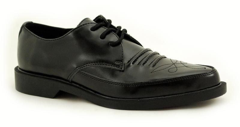 T.U.K a8901 Noir Western Cravate confiture chaussure