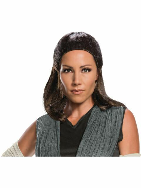 Brand New Star Wars VIII Rey Adult Wig