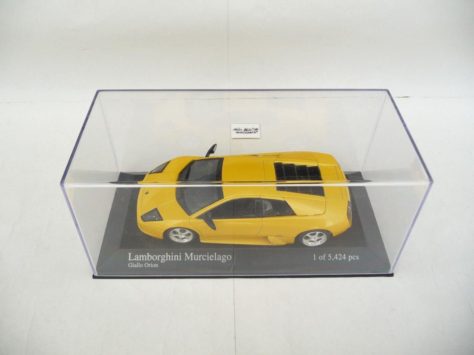 Minichamps 1 43 Lamborghini Murcielago 2004 Metallic Yellow 103520