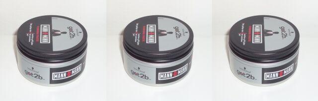 (1L=29,67€) 3x got2b MANN-O-MANN Forming Paste , 3x100ml