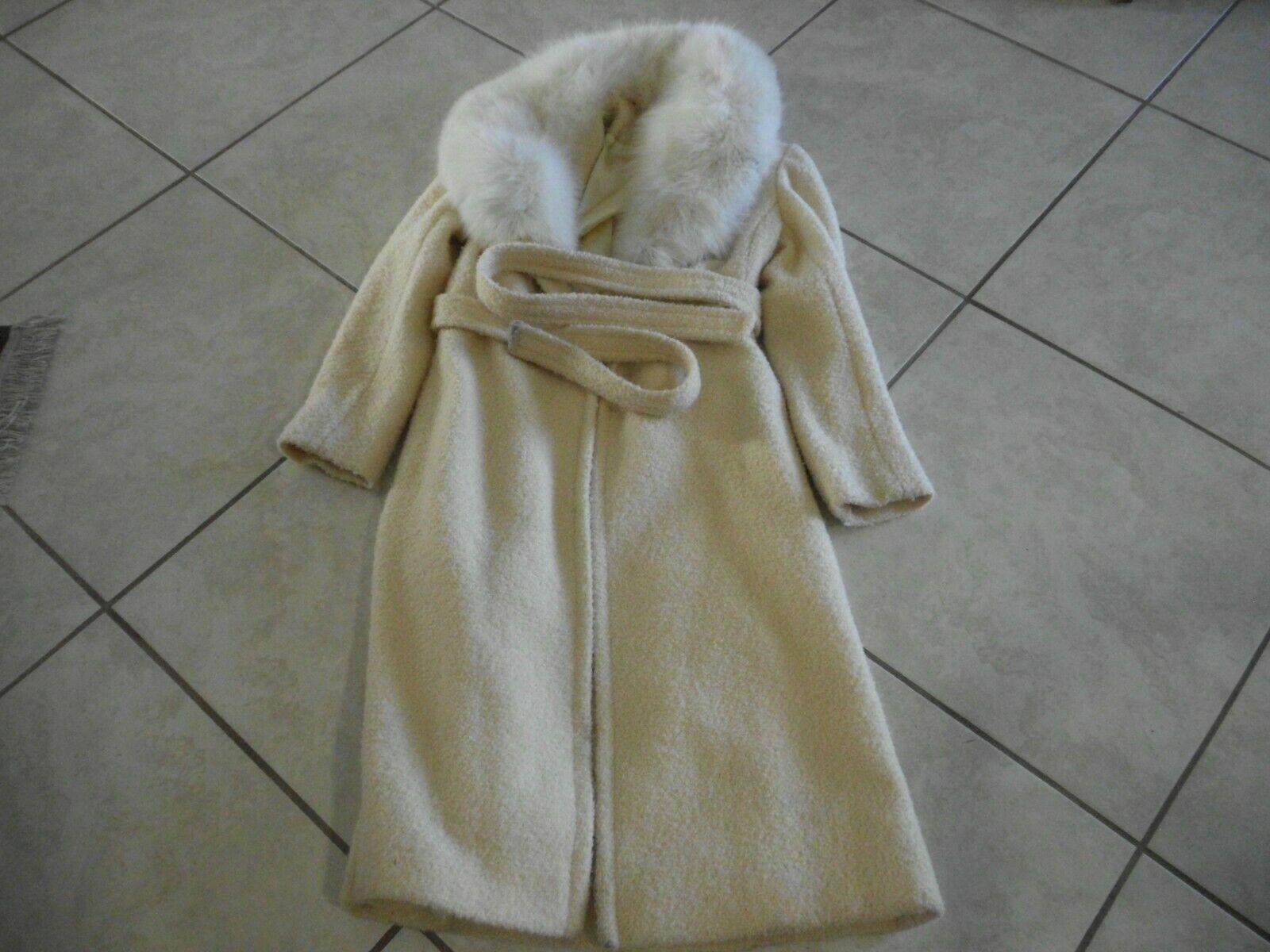 Vintage Rubel Original Full Lenght  Collar Fur An… - image 1
