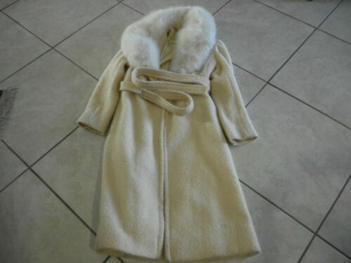 Vintage Rubel Original Full Lenght  Collar Fur And