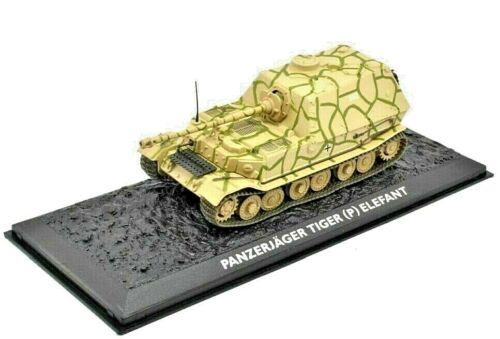Atlas 1:72 REF.NO.KK17 Ultimate Colección de tanque Tiger Elefant Ejército Alemán