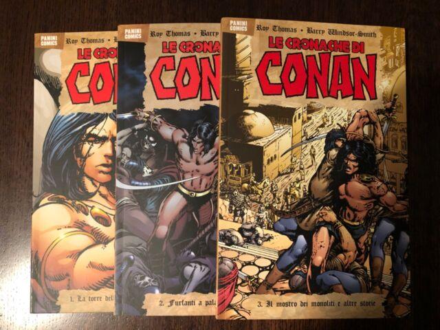 Lotto 3 volumi Le Cronache di Conan PANINI COMICS