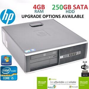 Rapido-Hp-8200-Elite-SFF-BARATO-PC-INTEL-CORE-I5-3-1ghzGHz-4gb-RAM-250GB