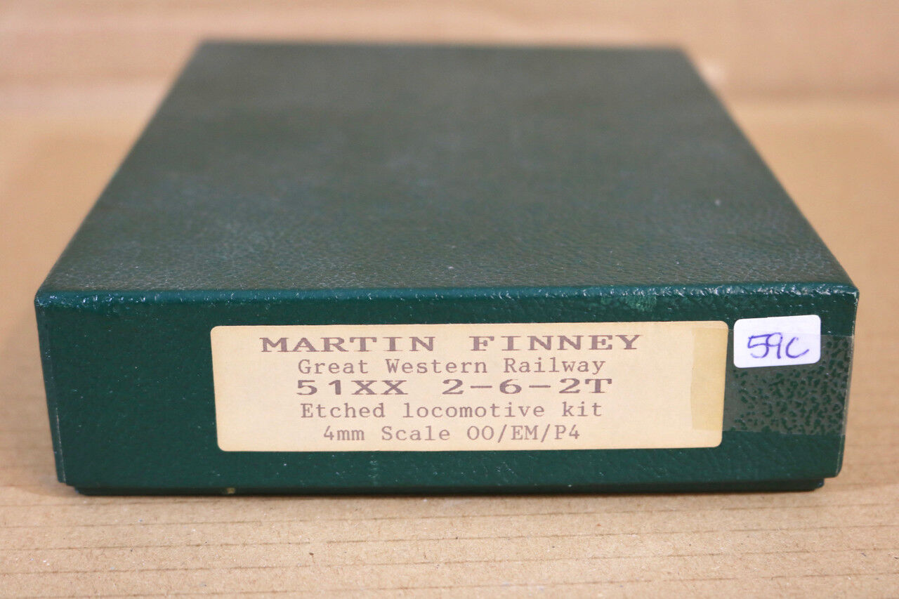 MARTIN FINNEY KIT BUILT BRASS GW GWR 2-6-2 CLASS 57XX PRAIRIE TANK LOCO KIT ng