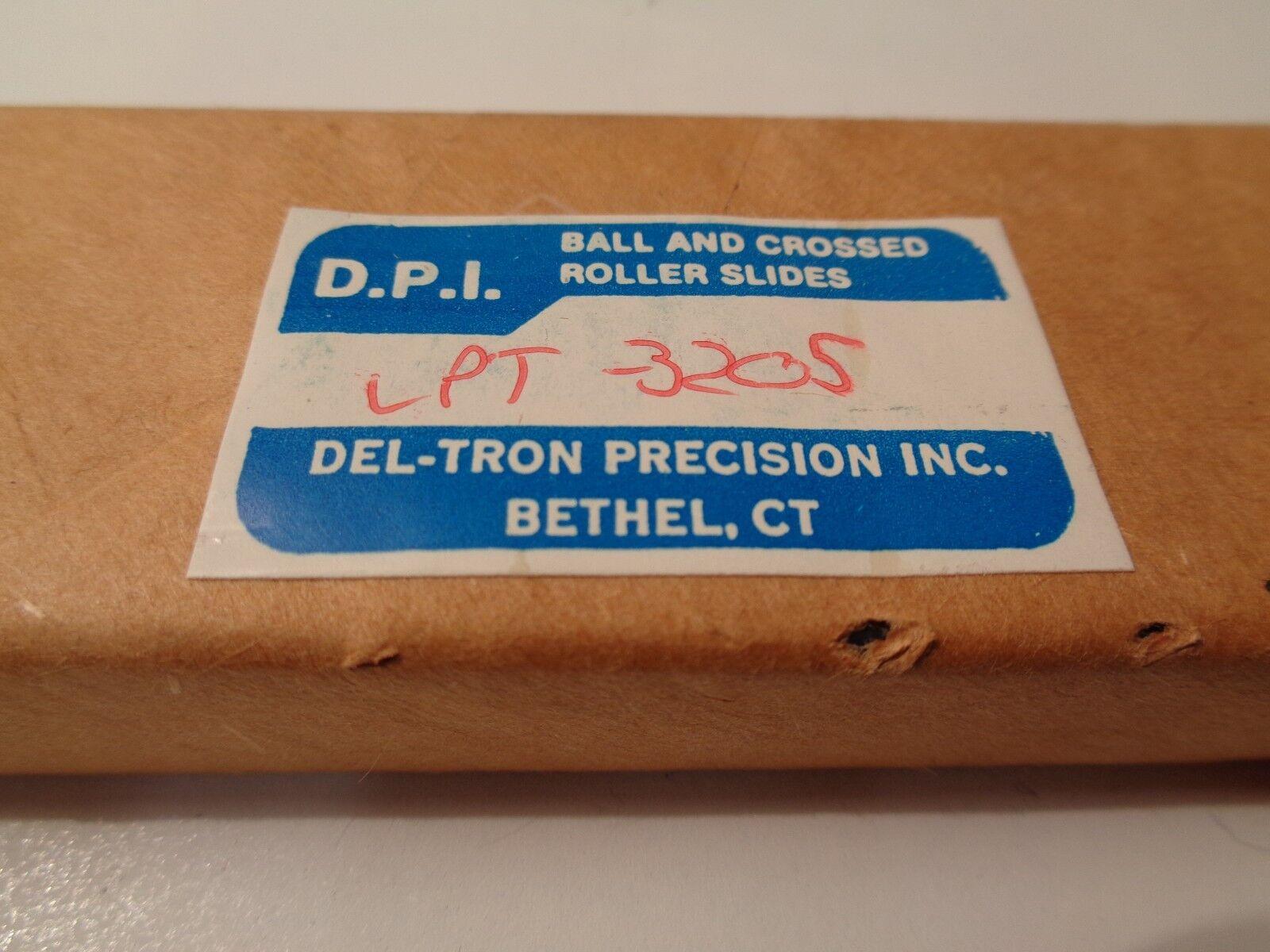 Del-Tron LPT-3205 Niedrig Profile Gekreuzt Roller Slide Slide Slide Tisch 04e960