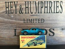 matchbox superfast no.9B-12.Rare Dark Blue Version near mint OVP excellent 1972