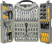 123 Pc All Purpose Mechanic Tool Set.professional Kit Case.handy Man Fix It