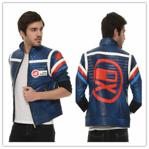 My Chemical Romance Party Poison Jacket Blue Costume Cosplay