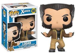 Funko-POP-Marvel-LOGAN-VINYL-FIGURE-185-Uncanny-X-Men