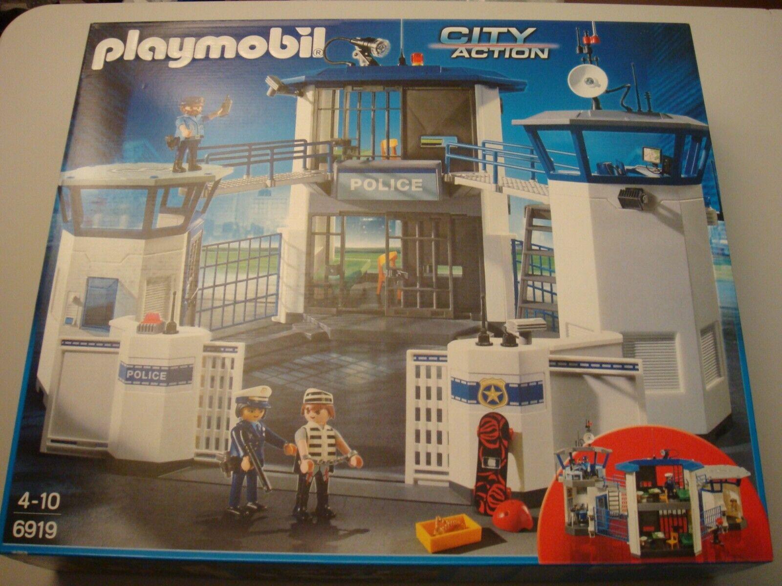 Playmobil playset City Action Police 6919 Neuf Boîte