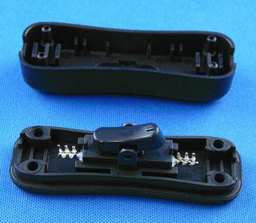 Schwarz 10 Stück Zwischenschalter 1 polig 2A 250V Transparent Weiß