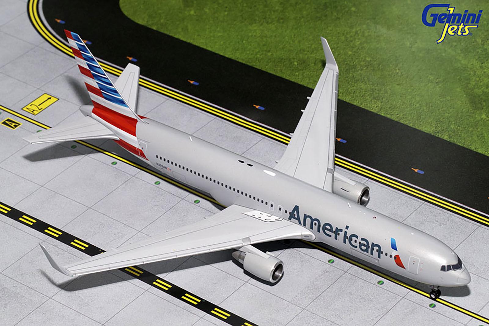 Gemini200 american - airlines - boeing 767 - 300er g2aal631 1   200, reg   n393an.neue